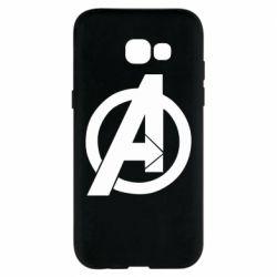 Чохол для Samsung A5 2017 Avengers logo