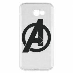 Чохол для Samsung A7 2017 Avengers logo