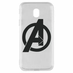 Чохол для Samsung J3 2017 Avengers logo