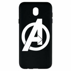 Чохол для Samsung J7 2017 Avengers logo