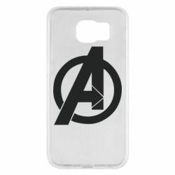 Чохол для Samsung S6 Avengers logo