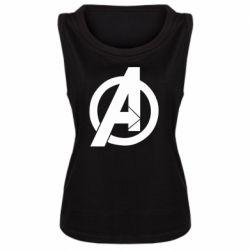 Майка жіноча Avengers logo
