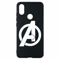 Чехол для Xiaomi Mi A2 Avengers logo