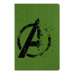 Блокнот А5 Avengers logotype destruction