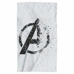 Полотенце Avengers logotype destruction