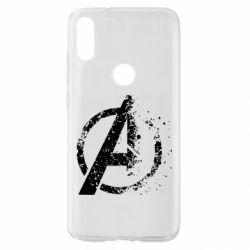 Чехол для Xiaomi Mi Play Avengers logotype destruction