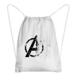 Рюкзак-мешок Avengers logotype destruction