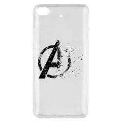 Чехол для Xiaomi Mi 5s Avengers logotype destruction