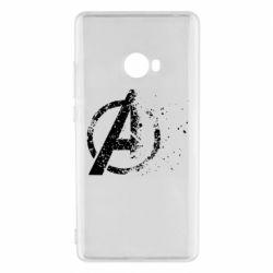 Чехол для Xiaomi Mi Note 2 Avengers logotype destruction