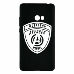 Чехол для Xiaomi Mi Note 2 Avengers Marvel badge