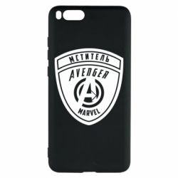 Чехол для Xiaomi Mi Note 3 Avengers Marvel badge