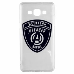 Чехол для Samsung A5 2015 Avengers Marvel badge