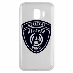 Чехол для Samsung J2 2018 Avengers Marvel badge
