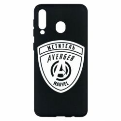 Чехол для Samsung M30 Avengers Marvel badge