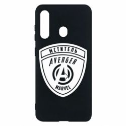 Чехол для Samsung M40 Avengers Marvel badge