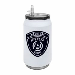 Термобанка 350ml Avengers Marvel badge
