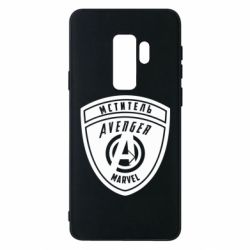 Чохол для Samsung S9+ Avengers Marvel badge