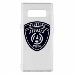 Чехол для Samsung Note 8 Avengers Marvel badge