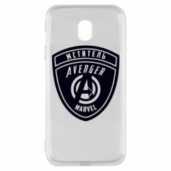 Чехол для Samsung J3 2017 Avengers Marvel badge