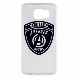 Чехол для Samsung S6 Avengers Marvel badge