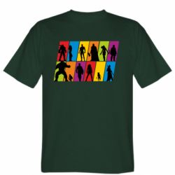Чоловіча футболка Avengers silhouette