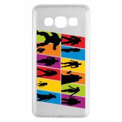 Чохол для Samsung A3 2015 Avengers silhouette