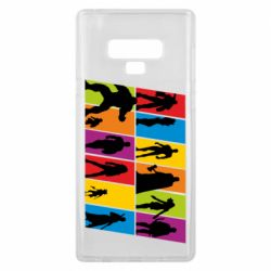 Чохол для Samsung Note 9 Avengers silhouette