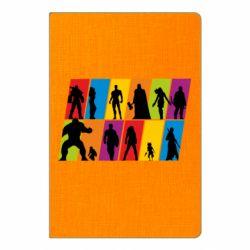 Блокнот А5 Avengers silhouette