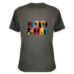 Камуфляжна футболка Avengers silhouette