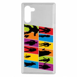 Чохол для Samsung Note 10 Avengers silhouette