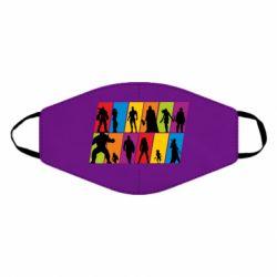 Маска для обличчя Avengers silhouette