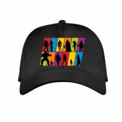 Дитяча кепка Avengers silhouette