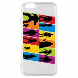 Чохол для iPhone 6/6S Avengers silhouette
