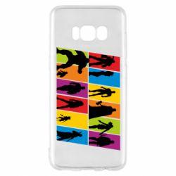 Чохол для Samsung S8 Avengers silhouette