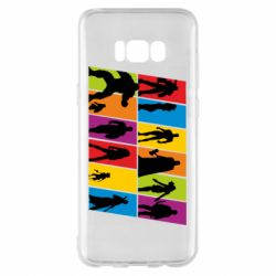 Чохол для Samsung S8+ Avengers silhouette