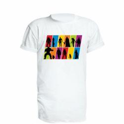 Подовжена футболка Avengers silhouette