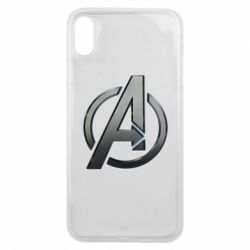 Чохол для iPhone Xs Max Avengers Steel Logo