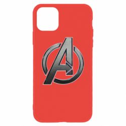 Чохол для iPhone 11 Avengers Steel Logo