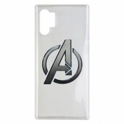 Чохол для Samsung Note 10 Plus Avengers Steel Logo