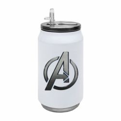 Термобанка 350ml Avengers Steel Logo