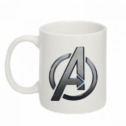 Кружка 320ml Avengers Steel Logo - FatLine