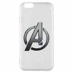 Чохол для iPhone 6/6S Avengers Steel Logo