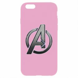 Чохол для iPhone 6 Plus/6S Plus Avengers Steel Logo