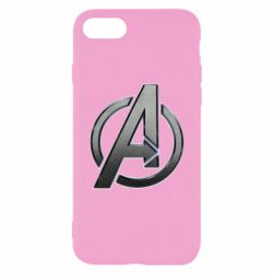 Чохол для iPhone 7 Avengers Steel Logo