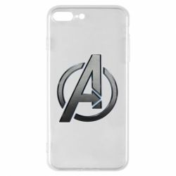 Чохол для iPhone 7 Plus Avengers Steel Logo
