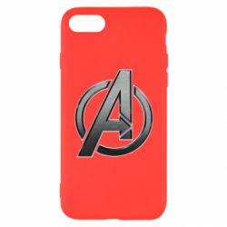 Чохол для iPhone 8 Avengers Steel Logo