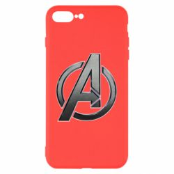 Чохол для iPhone 8 Plus Avengers Steel Logo