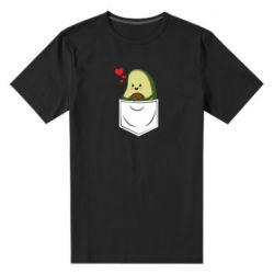 Мужская стрейчевая футболка Avocado in your pocket