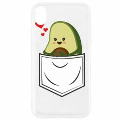 Чехол для iPhone XR Avocado in your pocket