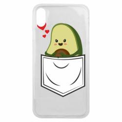Чехол для iPhone Xs Max Avocado in your pocket